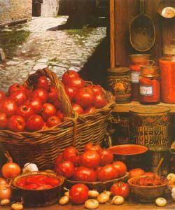 Il pomodoro di terra parmense e i suoi derivati