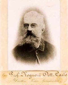 Carlo Rognoni (1829-1904), agronomo parmigiano, titolare della cattedra di agronomia dell'Istituto Tecnico e presidente del Comizio Agrario di Parma