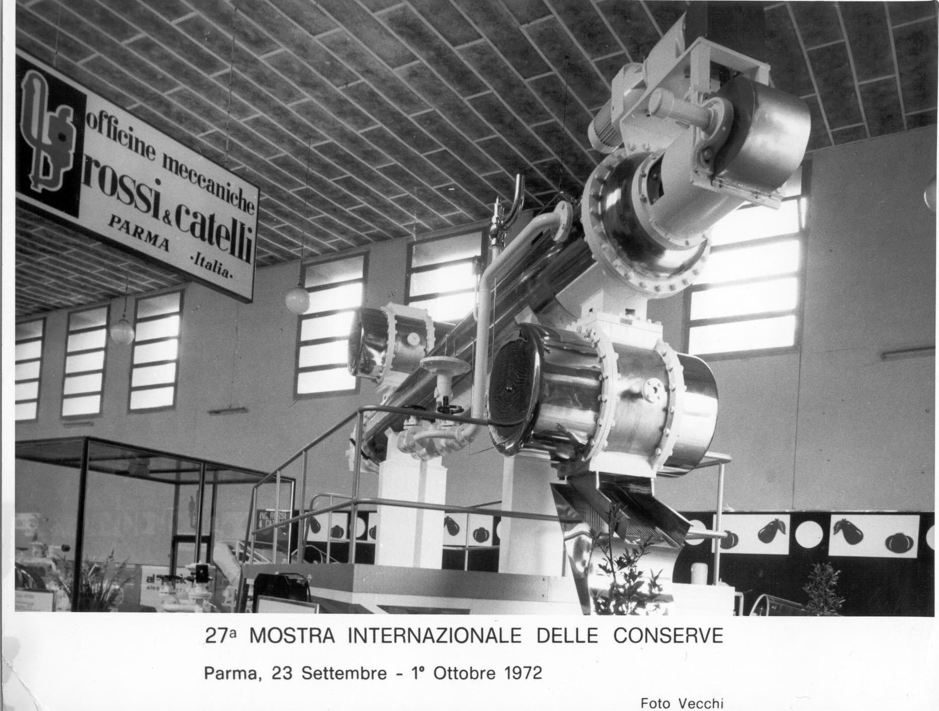 """La pelatrice termofisica """"Vesuvio"""" brevettata da Rossi & Catelli nel 1971."""