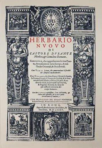 Castore Durante - Herbario Nuovo