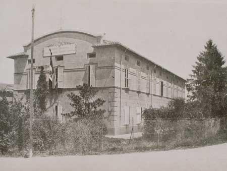 La sede della Stazione Sperimentale delle conserve alimentari di Parma