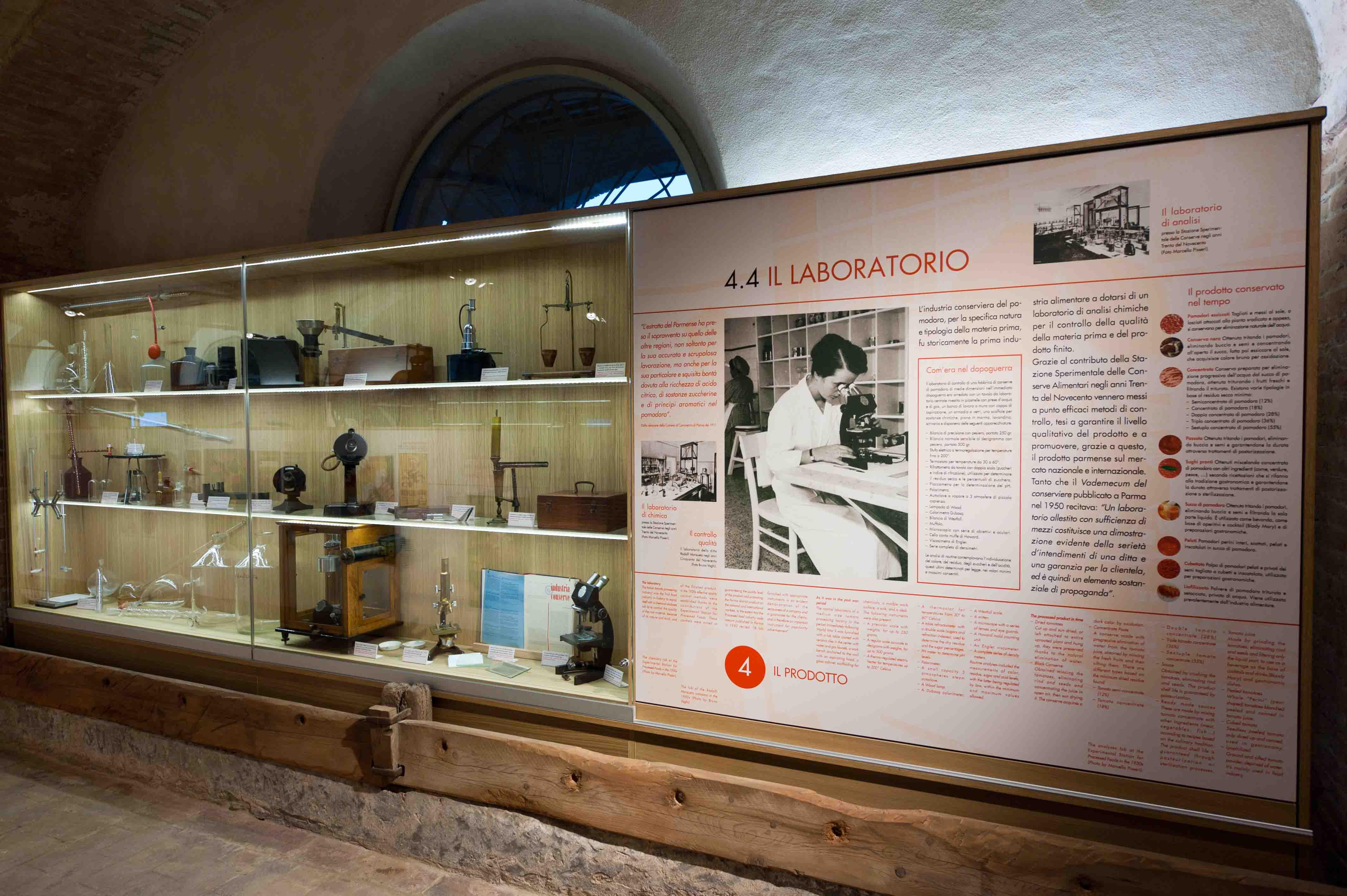 Museo del Pomodoro - Il laboratorio (foto Luca Rossi)