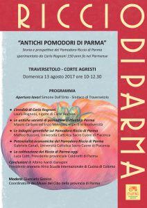 Invito Antichi pomodori di Parma, Traversetolo (PR), 13 agosto 2017